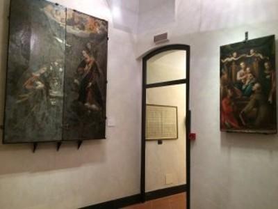sala ardesie dipinte