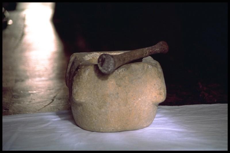 Ambito parmense sec. XVII, Mortaio