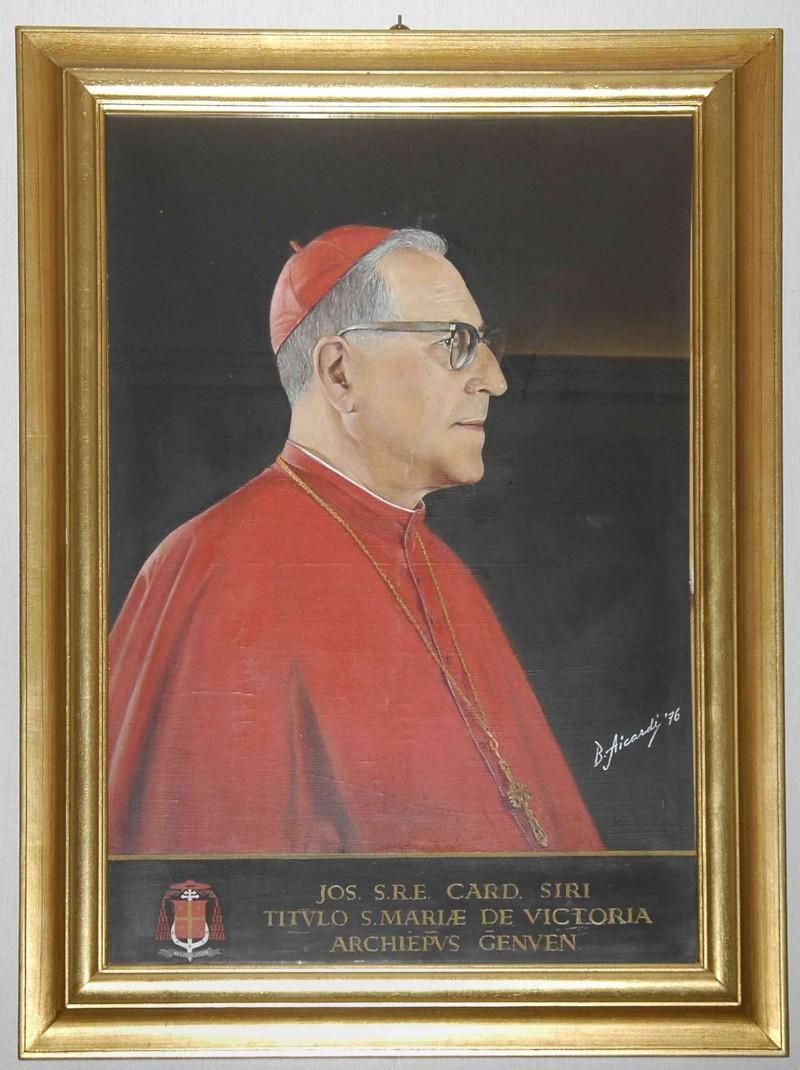 Aicardi B. sec. XX, Cardinale Giuseppe Siri