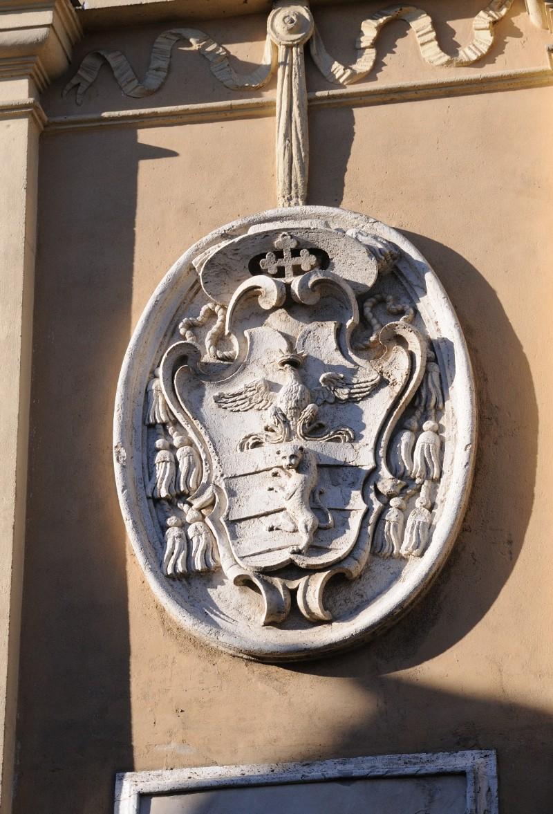 Marmoraio viterbese (1723), Stemma del cardinale Marescotti