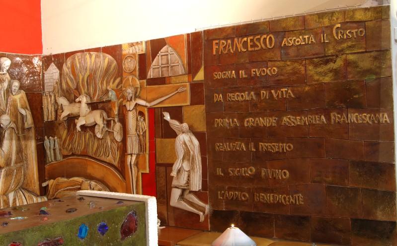 Abbozzo E. (1960 circa), Scene di vita di San Francesco