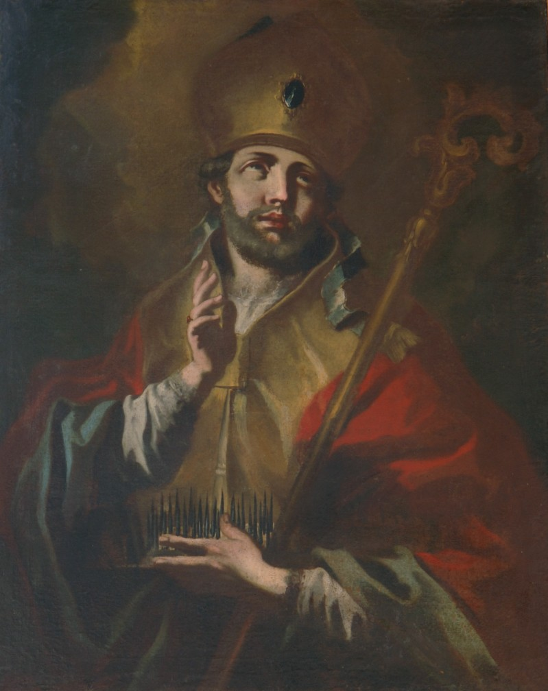 Ambito napoletano sec. XVIII, San Biagio vescovo