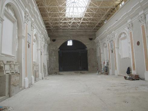 Veduta  dell'aula dall'ingresso