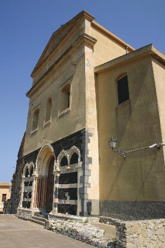 La facciata della cattedrale di San  Bartolomeo  a Patti