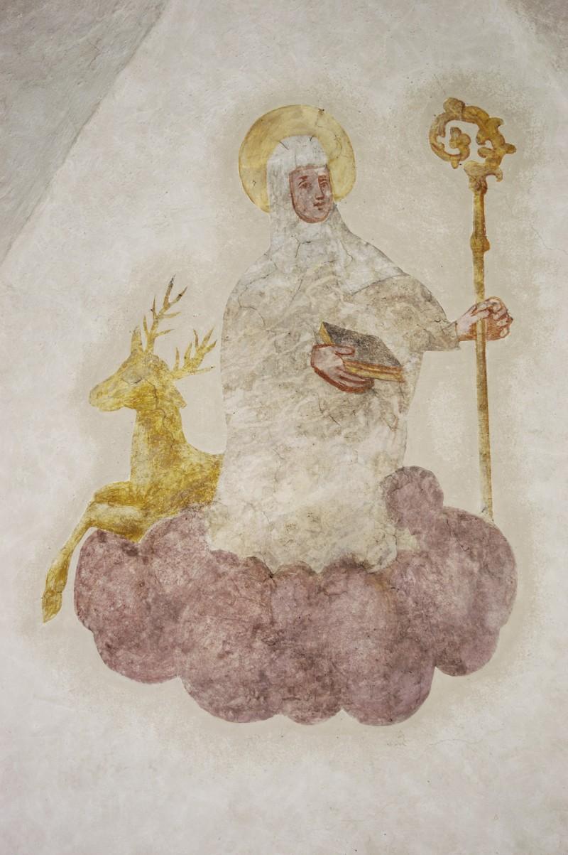 Ambito trentino sec. XVII, S. Caterina di Svezia