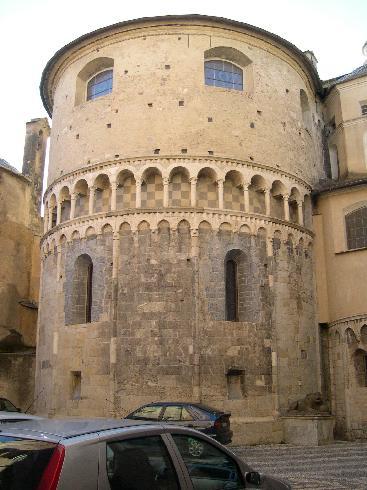 L'abside della cattedrale di San Michele
