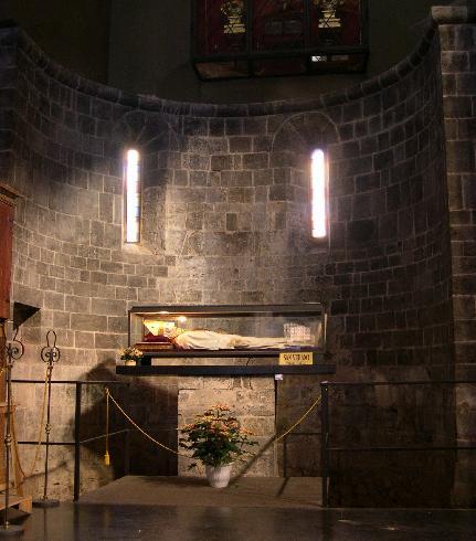 Spoglie di San Verano, vescovo francese del VI secolo