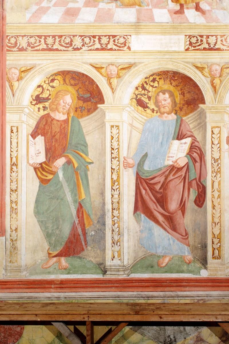 Albanese G.P. (1515), Gli apostoli Giuda e Mattia