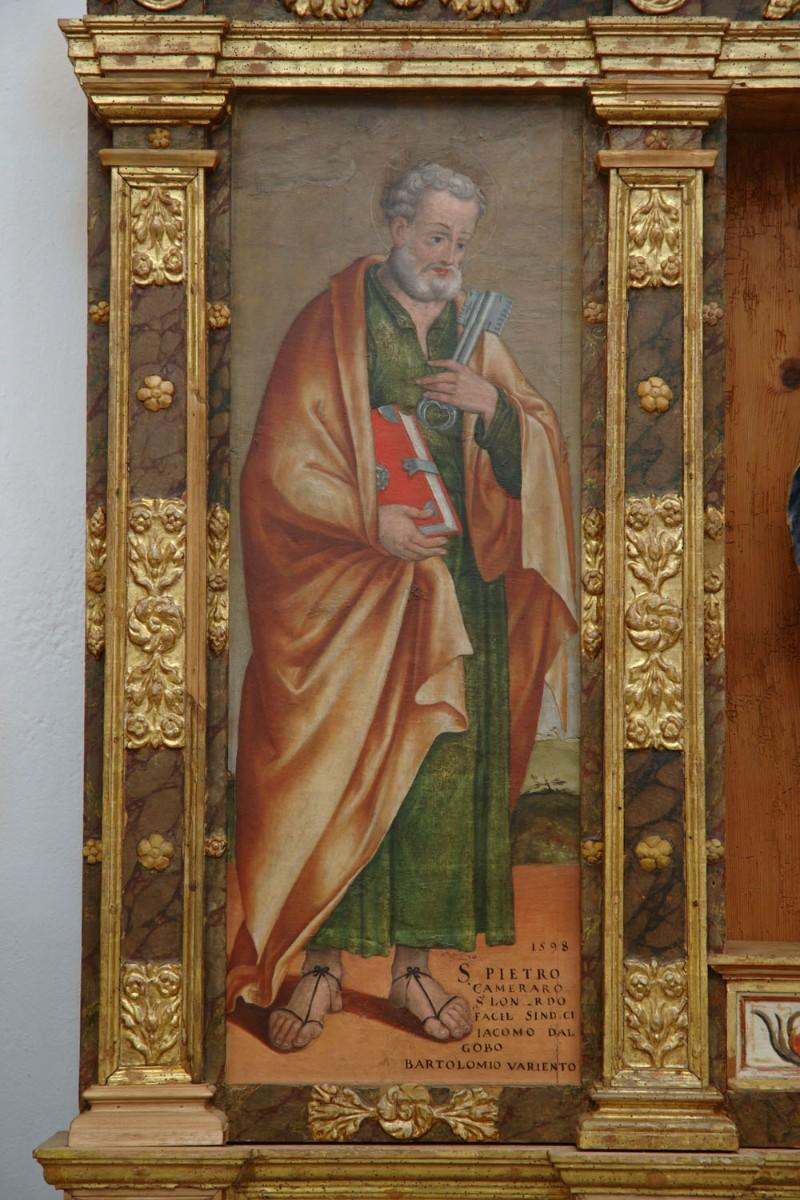 Agostini G. A. (1598), S. Pietro apostolo