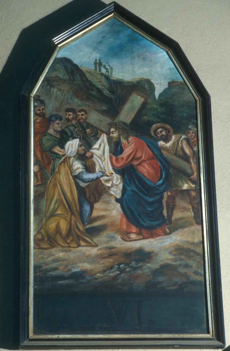 Albenga V. - Bottero C. (1901), Gesù Cristo asciugato dalla Veronica