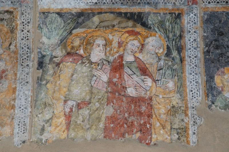 Ambito veneto inizio sec. XV, Gesù e discepoli