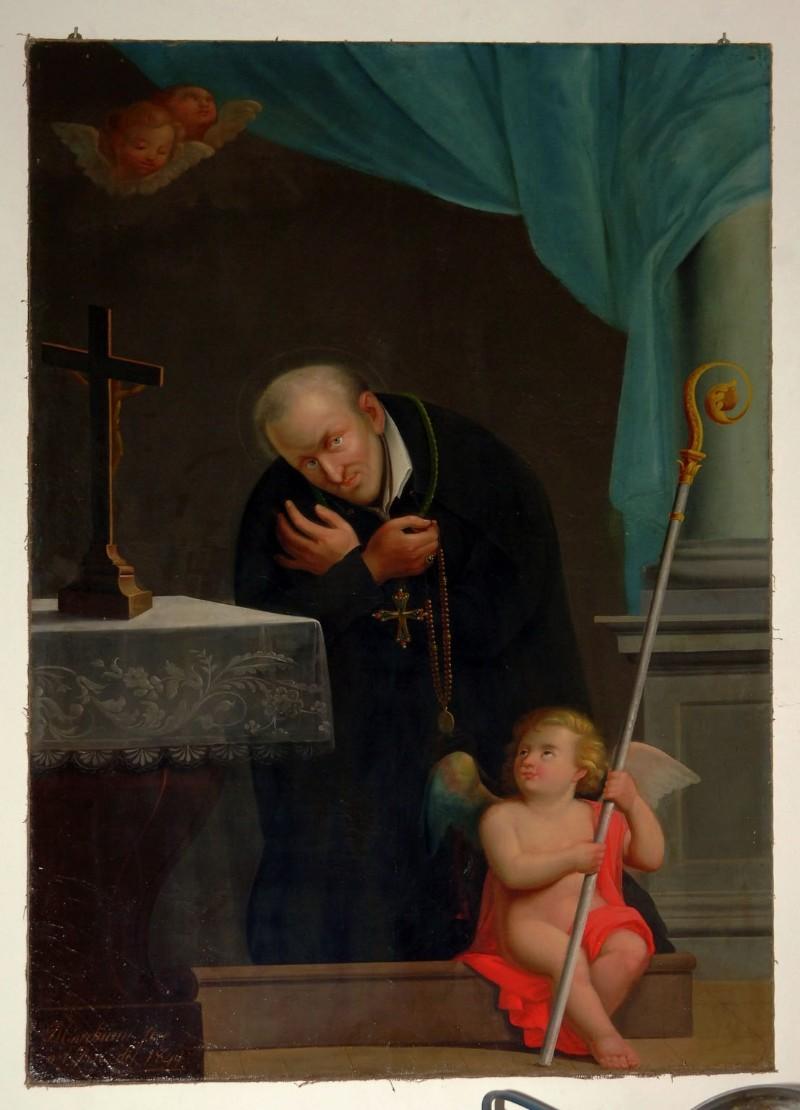 Marchiani (1849), Dipinto S. Alfonso de Liguori