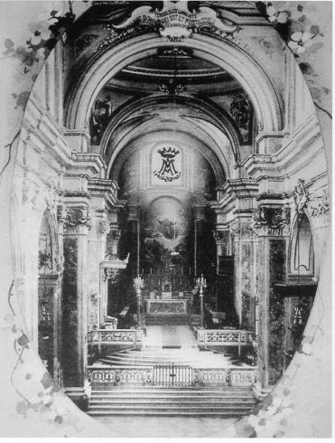 Presbiterio 1950 circa