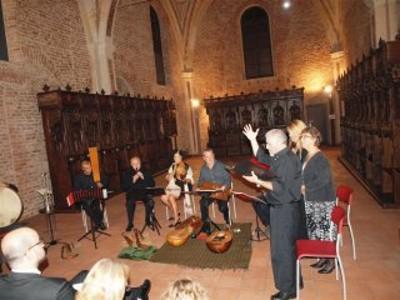 Concerto inaugurale della mostra Conoscere per Trasmettere. Liturgie della Parola (04/10/ - 30/11 2014)