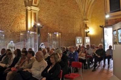 Inaugurazione della mostra Evangelo secondo Luca dalla parte degli esclusi (29/9 - 22/10/2017)