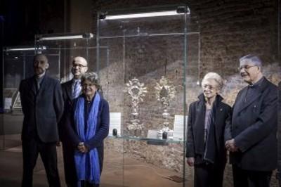 Inaugurazione della mostra Celebrare la Presenza del Risorto (1/4 - 5/6/2016)