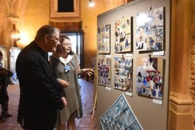 Inaugurazione della mostra 50 anni di passione bianco-azzurra. Il Rione Cattedrale si racconta (6/9 - 8/10/2017)