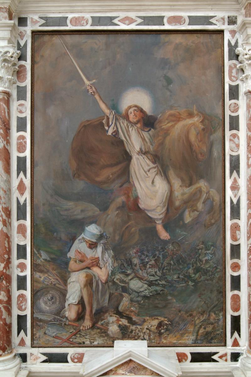 Erler G. E. (1927), San Giacomo Maggiore appare durante la battaglia di Clavio