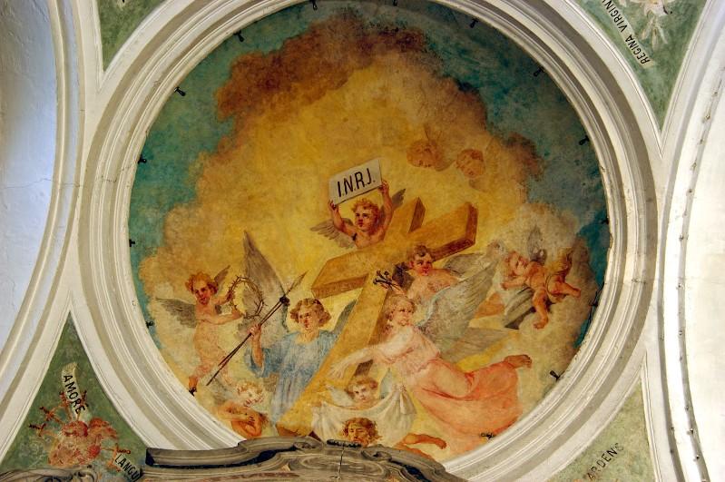 Bottega calabrese sec. XX, Angeli con simboli della Passione