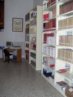 Veduta Biblioteca sala lettura