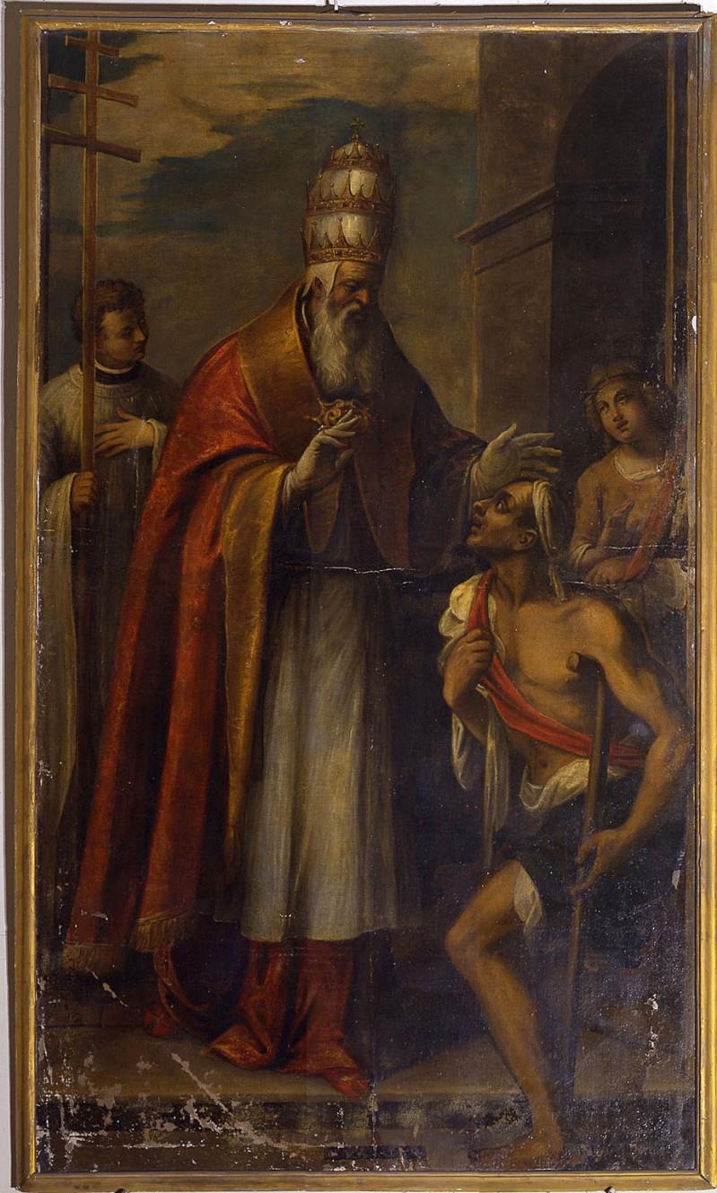 Ambito veneto metà sec. XVI, San Leone IX