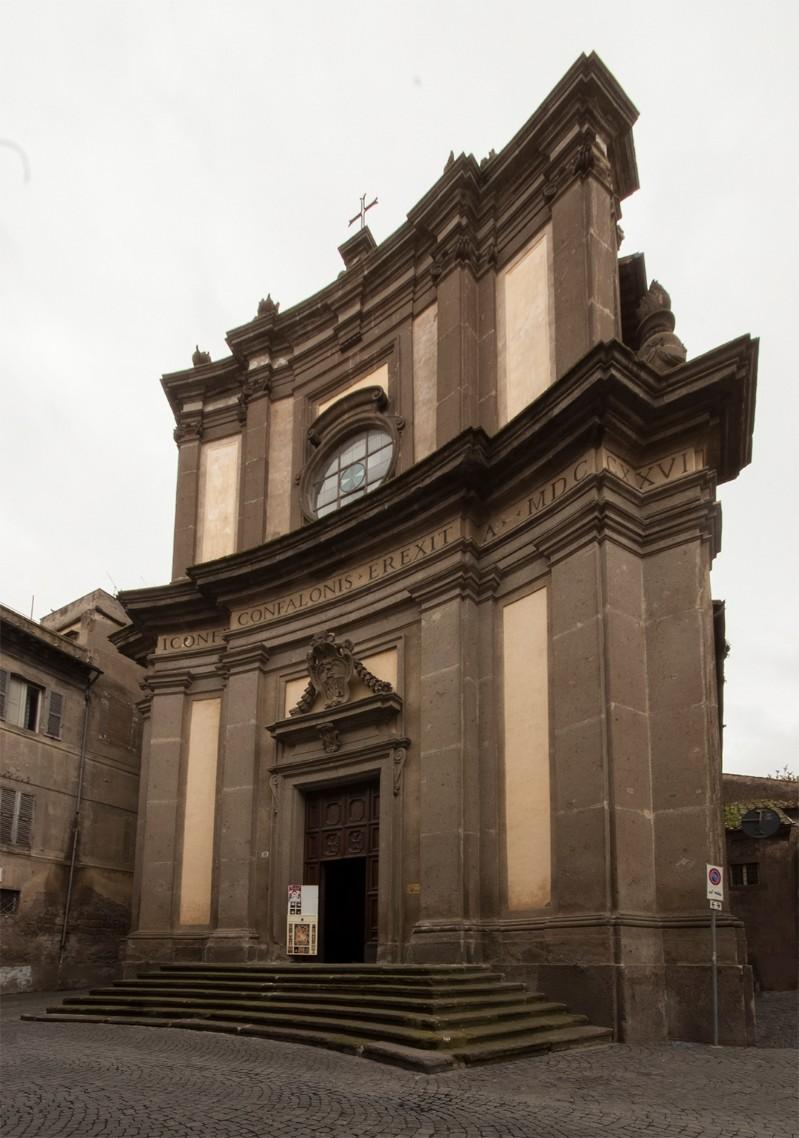Chiesa di San Giovanni Battista detta del Gonfalone <Viterbo>