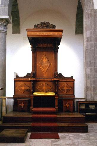 La cattedra episcopale