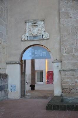 L'ingresso al museo in piazza Duomo