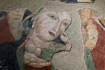 Madonna di Buonamorone-Affresco
