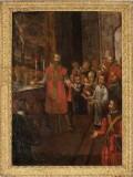 Ambito piemontese sec. XVII, Miracolo dell'ostia di Don Domenico Occelli