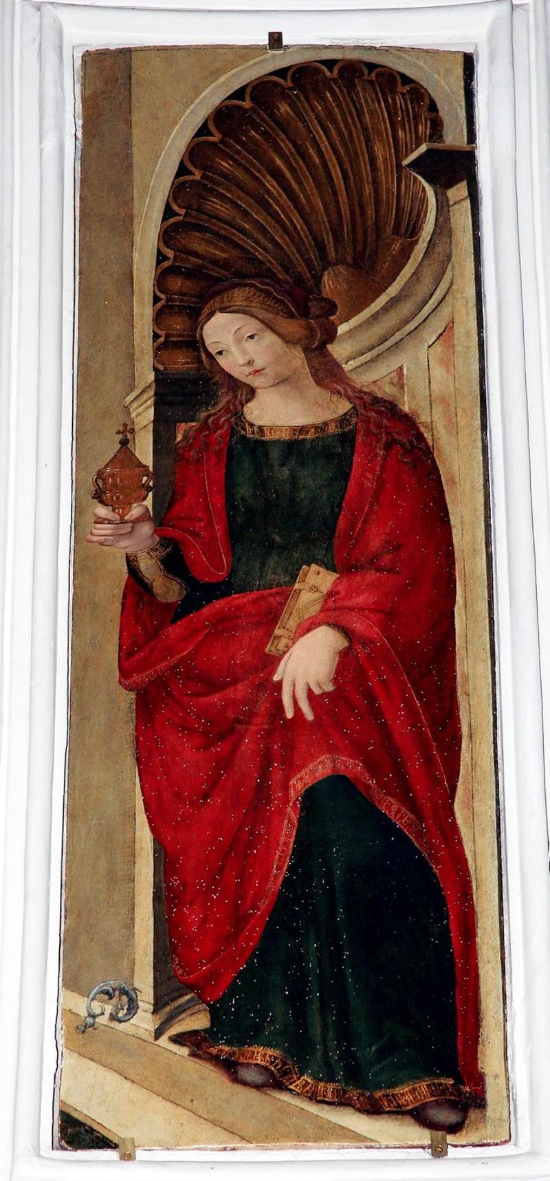 Scuola toscana inizio sec. XVI, Santa Maria Maddalena