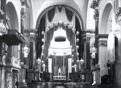 La cattedrale prima del 1950