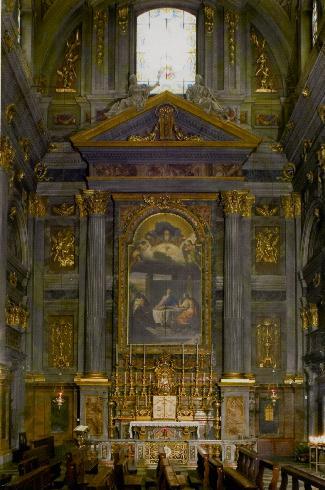 La cappella della custodia eucaristica
