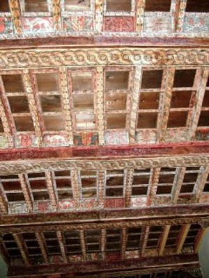 Sala 9 - Soffitto dipinto 1462