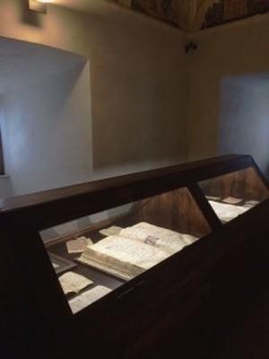 Sala 17 - Codici e manoscritti