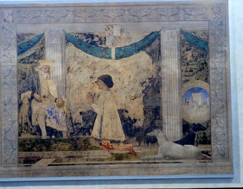 L'affresco di Piero della Francesca