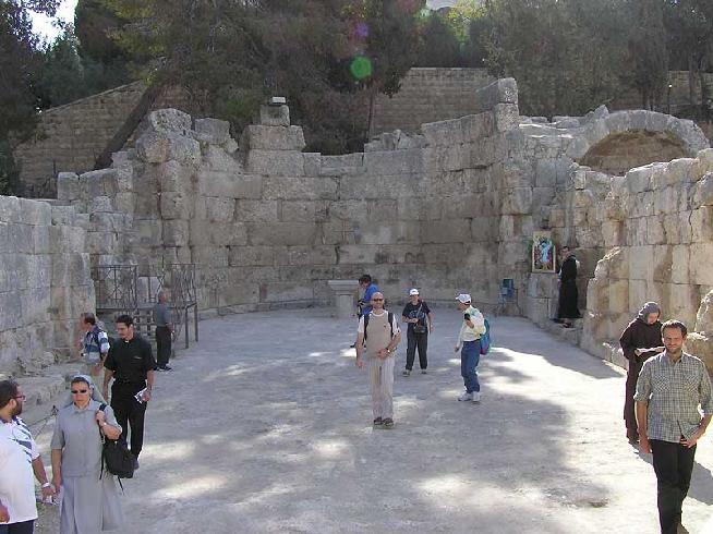 Battistero di Nicopoli - Emmaus (Emmaus - Nicopolis)