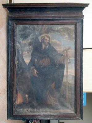 opera da restaurare: S.Antonio Abate