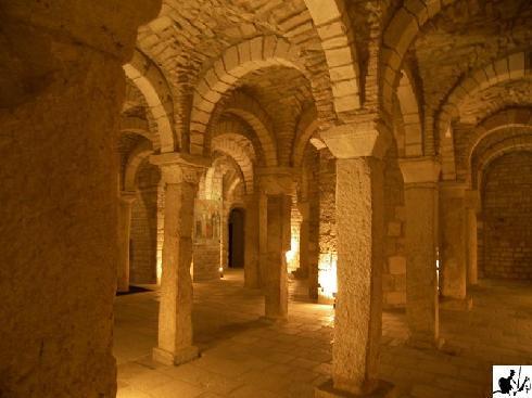 La cripta  di San Casto nella cattedrale di Trivento