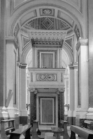 Pulpito ottocentesco