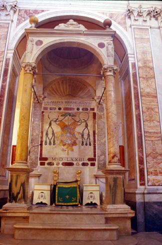 Cattedra Episcopale del 1573