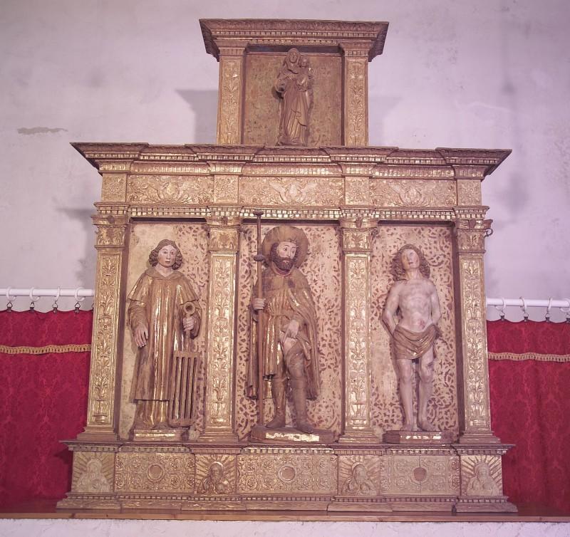 Martini G. (1522), Altare ligneo