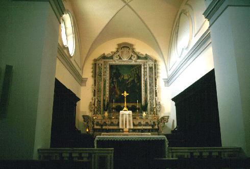 Custodia eucaristica e cappella feriale