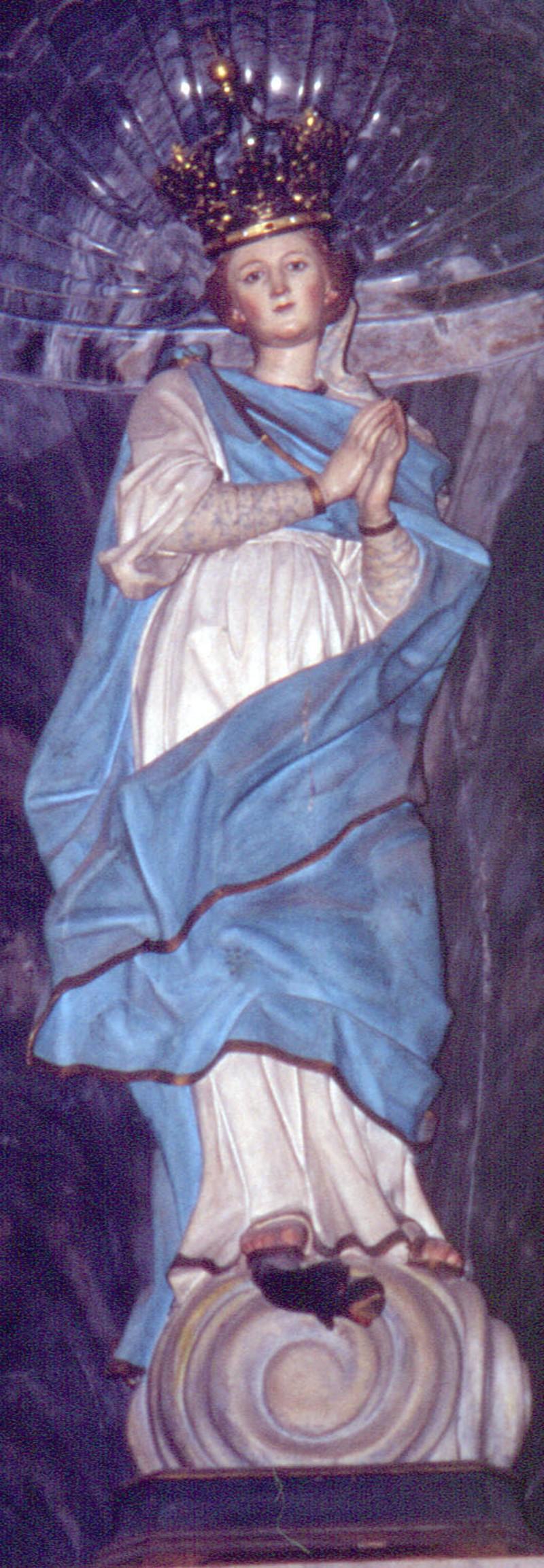 Lonis G.A. (1763-1765), Vergine Immacolata
