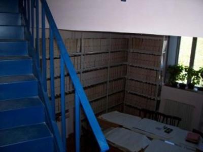 Scaffalature dell'archivio