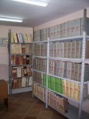 Corridoio dell'archivio