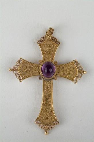 Argentiere dell'Italia meridionale secc. XIX-XX, Croce pettorale
