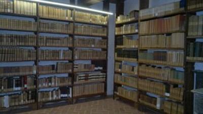 Sala 77 del Palazzo, Biblioteca Diocesana, fondo San Nicola