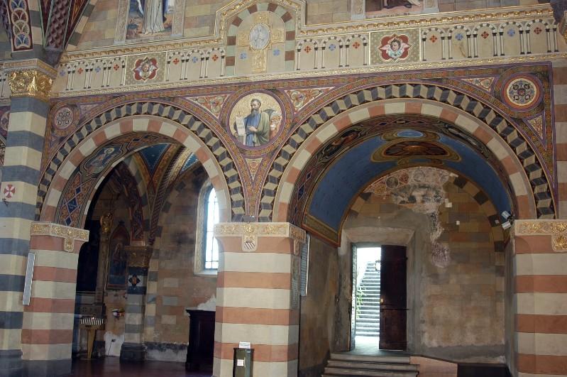 Morgari L. - Secchi A. (1896-1897), San Marco in clipeo e motivi decorativi