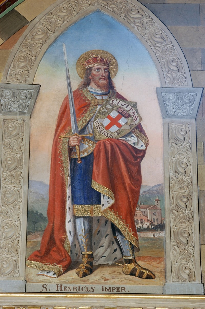 Morgari L. (1896-1897), Sant'Enrico II imperatore